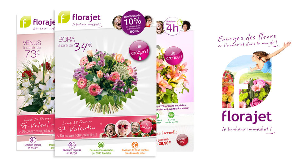 Mailings newsletters Florajet