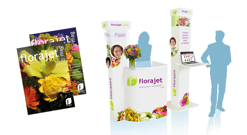 Florajet MAG + Stand expo Florajet